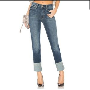 MOTHER The Ponyboy Ankle Fray Jeans Bake Sale 24